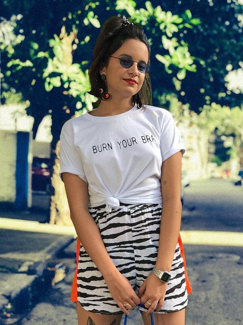 Short chitão zebra