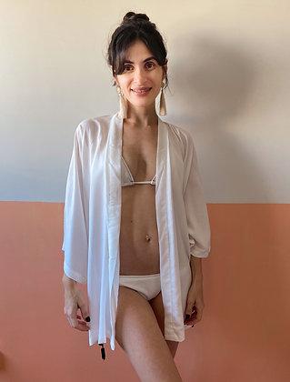 kimono levinho branco