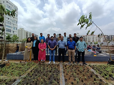 Shreeji Spacelinks celebrates World Environment Day on 5th of June, 2021 at their project SAMASTA.