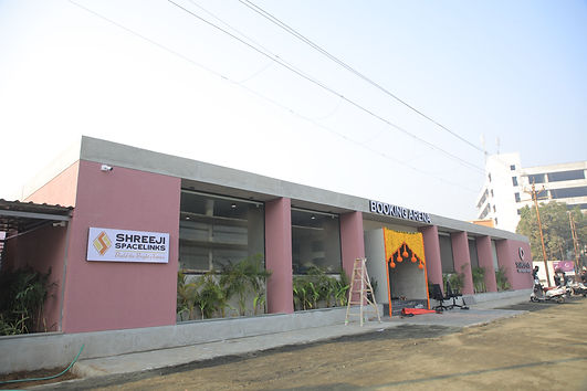 SAMASTA booking office arena. Located opposite to Akshar Pavilion at the 30 mtr Vasna-Bhayli main road in Vadodara.