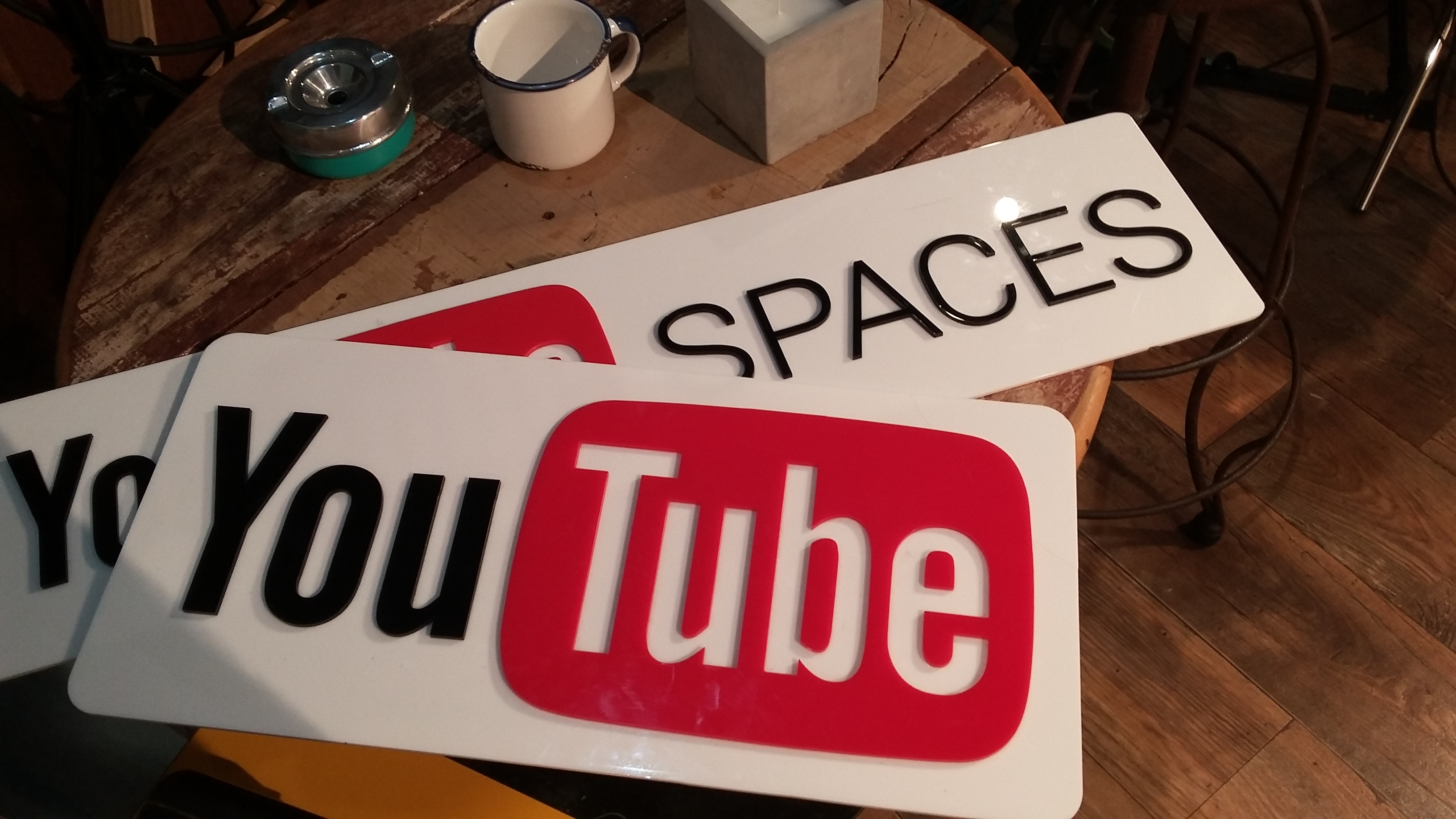 Live no youtube space