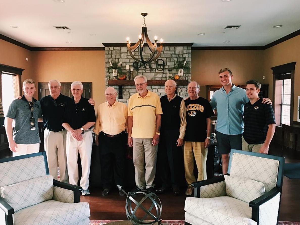 Alumni return for game day