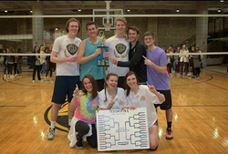 Pi Phi Volleyball Tournament Champs