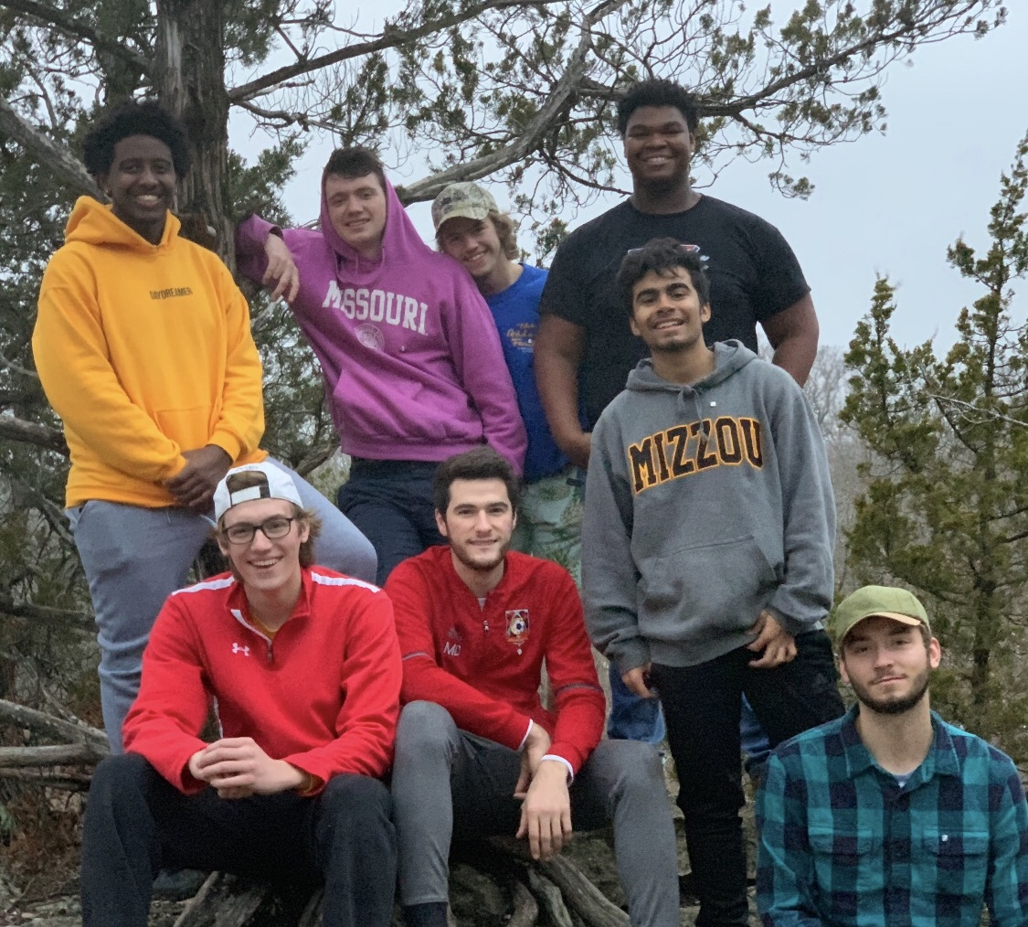 Brothers go hiking at the Pinnacles