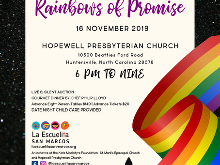 Rainbows of Promise: The 6th Annual Benefit Dinner & Silent Auction