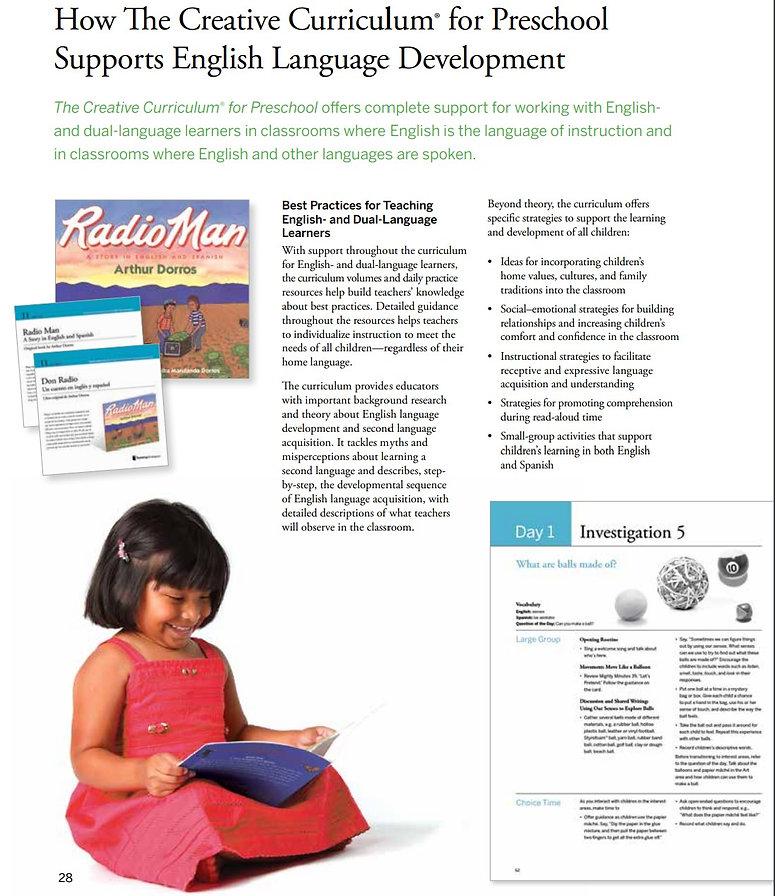 La Escuelita San Marcos Bilingual Curriculum