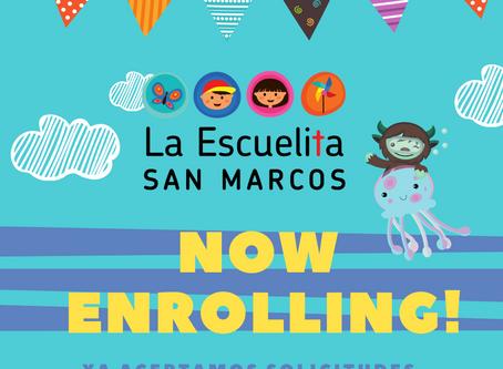 Now Enrolling!