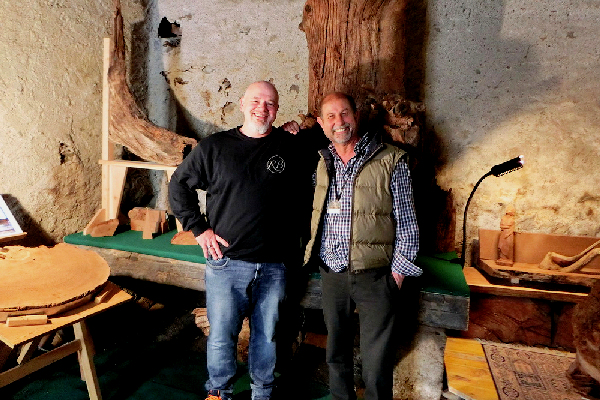Ralf + Toni im Museum