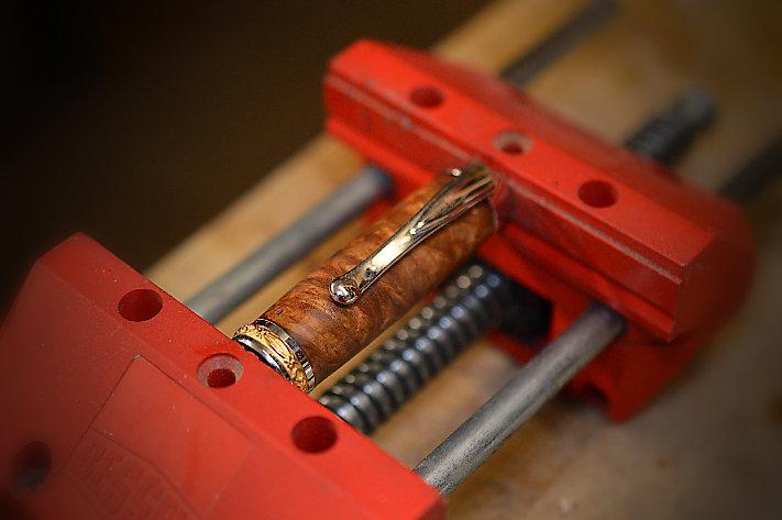 Metallteile  für den Holz Füller