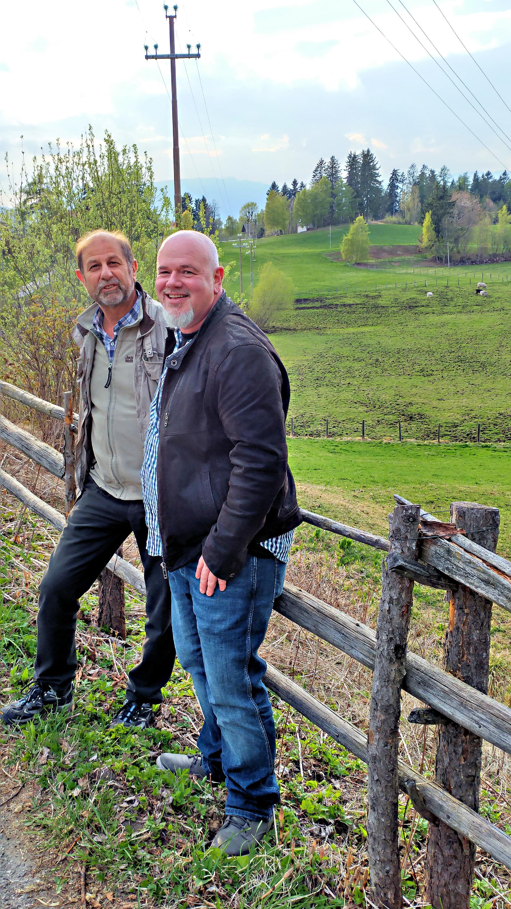 Toni Santa und Ralf Brüll