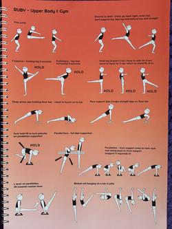 ruby upper body and gym