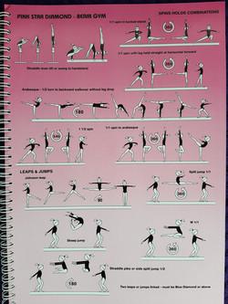 pink diamond, beam gym