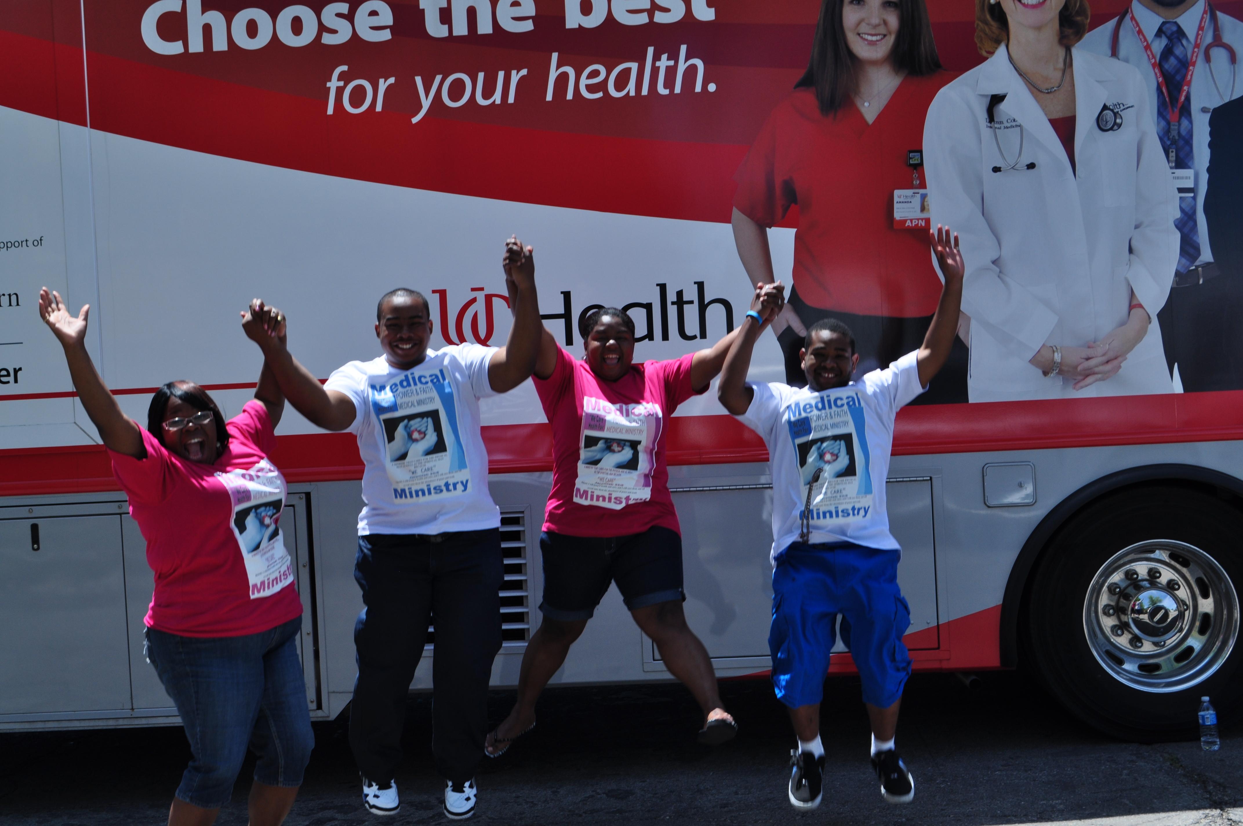 """Health Fair 2014 - """"A Great Success"""""""