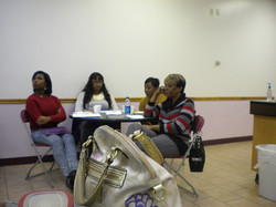 Women, sisters sharing knowledge
