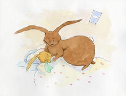 Quentin lapin ne boude plus