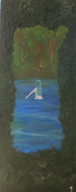 Dans un lac