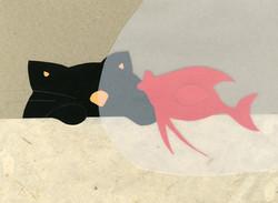 Chat au poisson