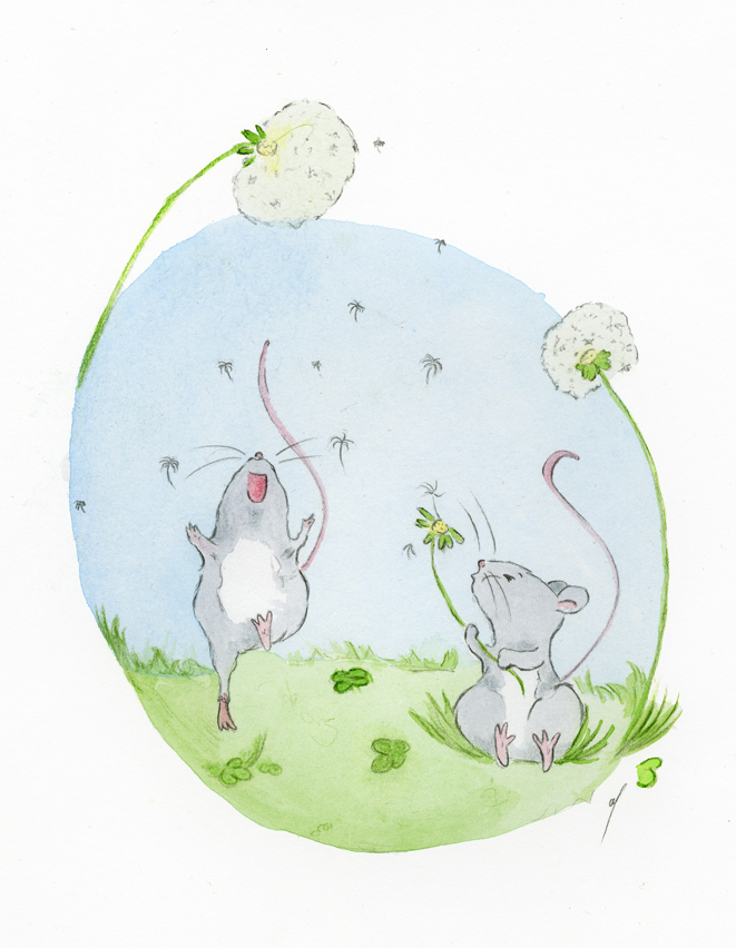 Deux petites souris