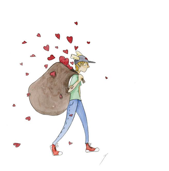 Le messager amoureux