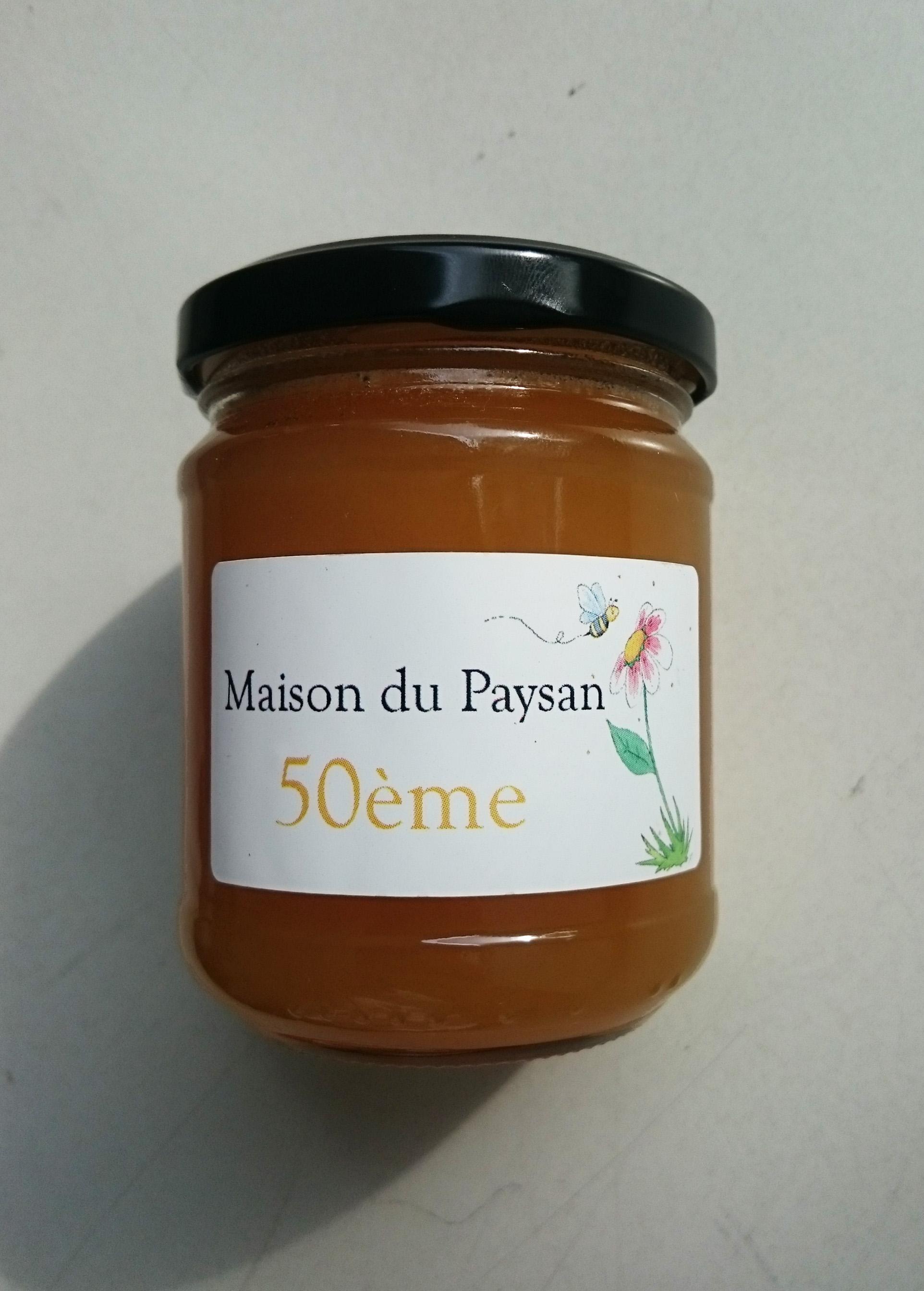 Étiquette pot de miel