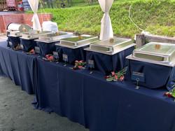 Custom Sedona buffet