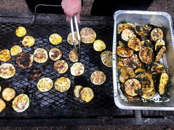 Grilled Eggplant catering