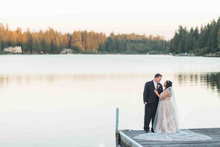 Real Snohomish Wedding: A Summer's Day at Green Gates at Flowing Lake