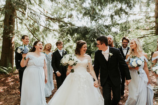 Real Snohomish Wedding: Tranquil Forest Garden Vibes at Twin Willow Gardens