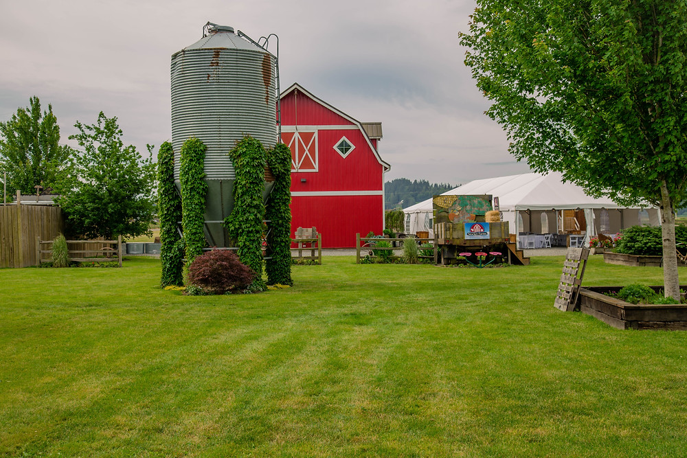 Photo of Snohomish Red Barn Events, a Snohomish wedding venue near Seattle, WA. | My Snohomish Wedding | Snohomish Wedding Planning