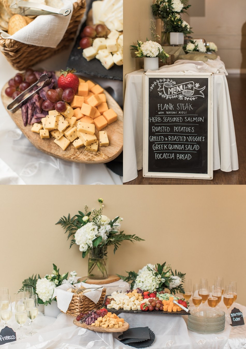 Wedding catering by Alexa's Cafe & Catering, a Snohomish wedding caterer. | www.mysnohomishwedding.com