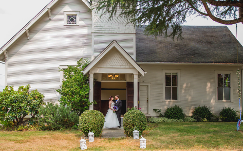 Photo of A Chapel on Swan's Trail, a Snohomish wedding venue near Seattle, WA. | My Snohomish Wedding | Snohomish Wedding Planning