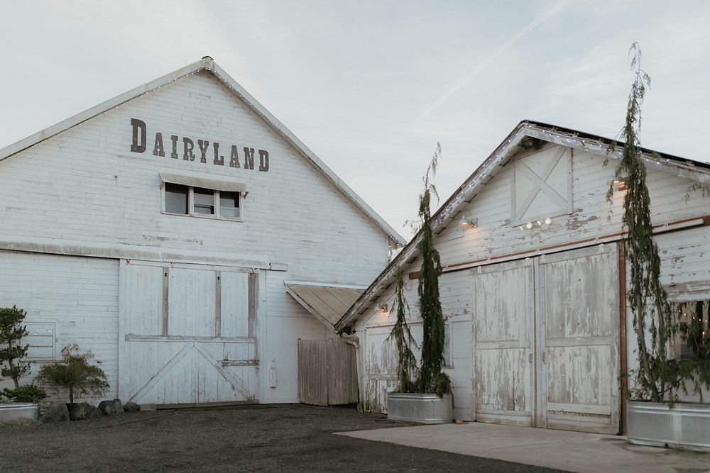 Photo of Dairyland in Snohomish, a wedding venue near Seattle, WA. | My Snohomish Wedding | Snohomish Wedding Planning