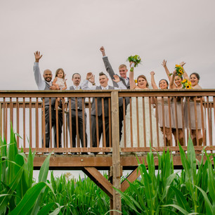 Real Snohomish Wedding: A Fun, Whimsical Wedding at The Red Barn at Stocker Farms