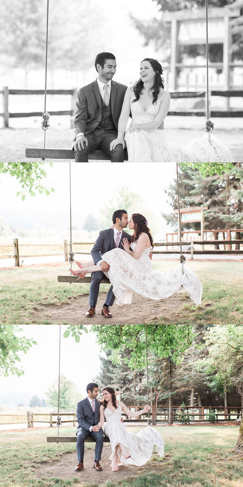 Photos from a backyard-style, forest-y wedding at Woodland Meadow Farms in Snohomish, a wedding venue near Seattle, WA.   My Snohomish Wedding   Snohomish Wedding Planning