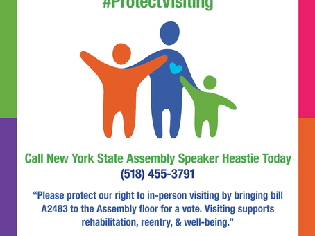 Pass Legislation to Protect In-Person Visiting in Prisons and Jails Throughout New York State