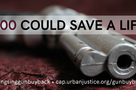 Help Those Incarcerated Right Their Wrongs! Support The #SingSingGunBuyBack!