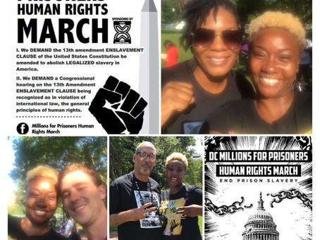 Personal Reflections From The D.C.Millions For Prisoners' Human Rights March by: Vivett Dukes