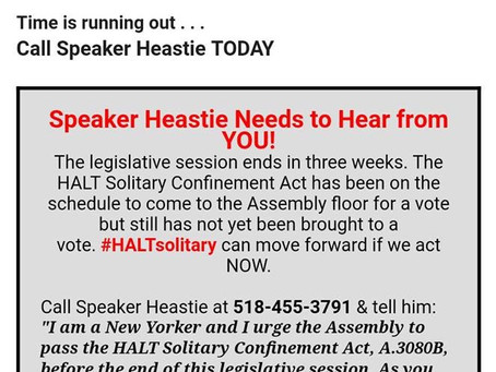 Speak Ya Truth Against Solitary Confinement!