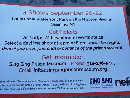 "Sing Sing Prison Museum Presents ""The Wait Room"""