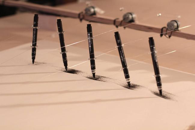Sensor-led Drawing Machine