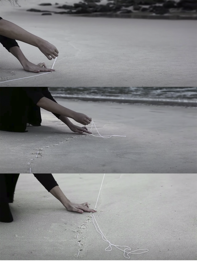 Stills from Maria Laet's 'Notes on the limit of the sea'