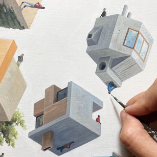 Six artists and their takes on architecture