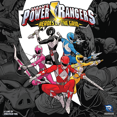 Saban's Power Rangers: Heroes of the Grid