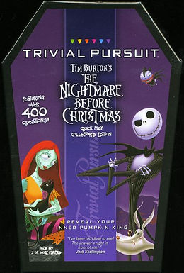 Trivial Pursuit: Tim Burton's The Nightmare Before Christmas Quick Play Collector's Edition