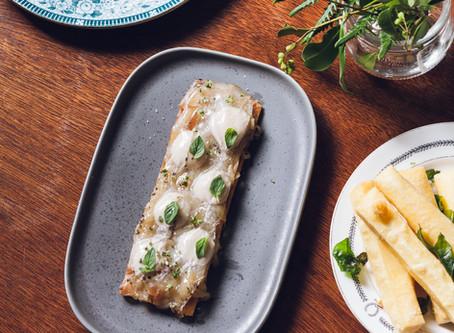 RECIPE # Pissaladiere,  anchovy & lardo