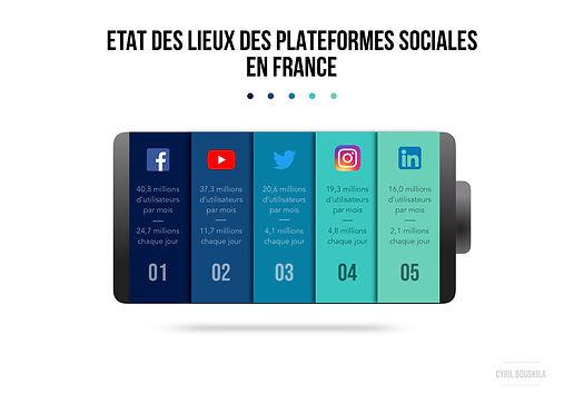Etat des lieux des plateformes sociales