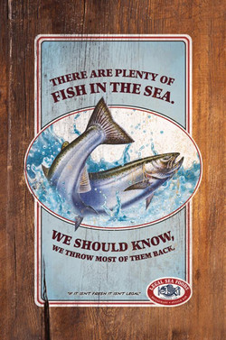 Legal Sea Foods: Fish in the sea