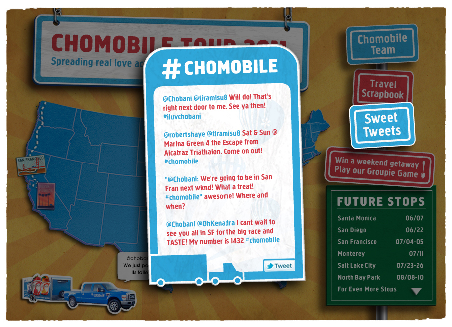 Live Tweets #Chomobile