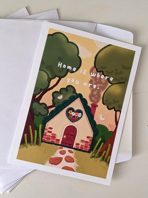 Home Greeting Card