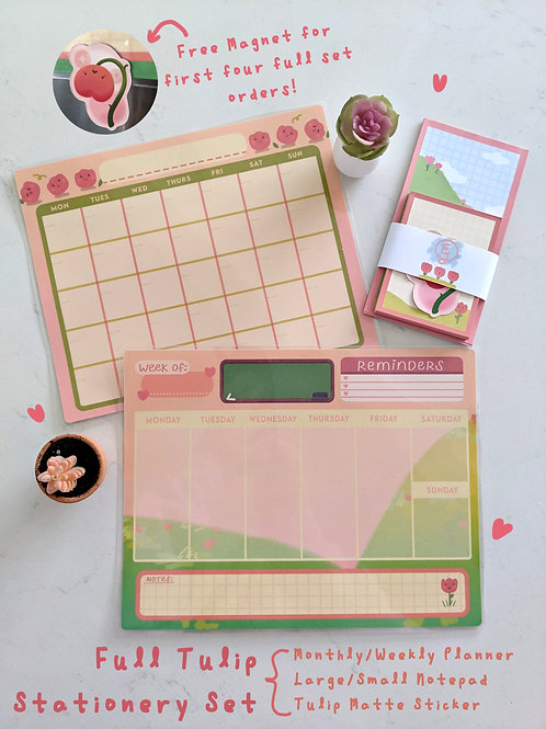 Tulip Stationery Collection